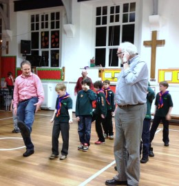 DANCING: The Cubs do it morris style