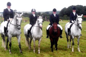 CLUB: Members at  the Novice Championships in Kelsall Hill