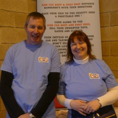 PLEASED: Steve and Kerri are happy with their success so far