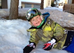 TALENTED: Youngster Lewis is an emerging snowboarding star