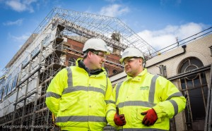 L-R_Morgan_Sindall_project_manager_Ben_Cushway_and