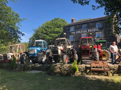 954 diggle tractor run