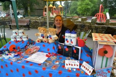 Alison Clowes, Saddleworth branch of the RBL