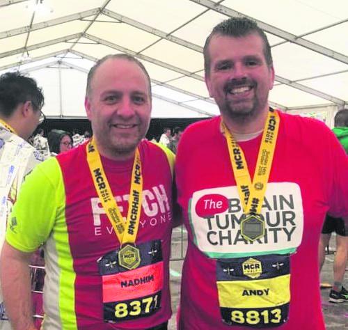 Andrew Plowright - Mcr Half Marathon
