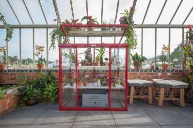 Anniversary patio glasshouse