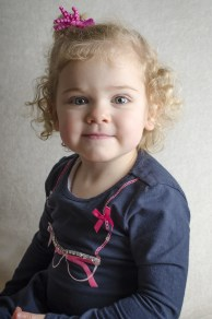 Ava Grace: She has a bubbly character and loves dancing