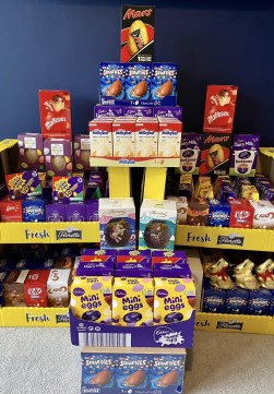 Collected Easter eggs