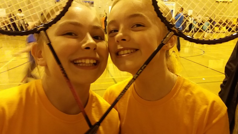 Dobcross badminton players