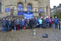 Saddleworth stands together for Holocaust Memorial Day Vigil