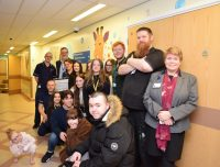 Oldham College students create artwork for children's ward at The Royal Oldham Hospital