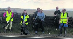 Denshaw litter pickers