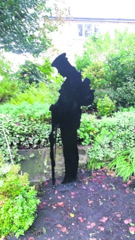 Dobcross to dedicate first silence soldier- picture by Paula Bateson