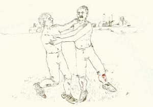 Fighting on the fields by Anna FC Smith