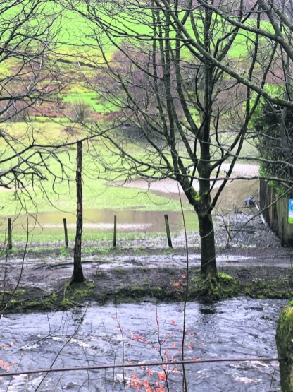 Flooding at Waterside Mill