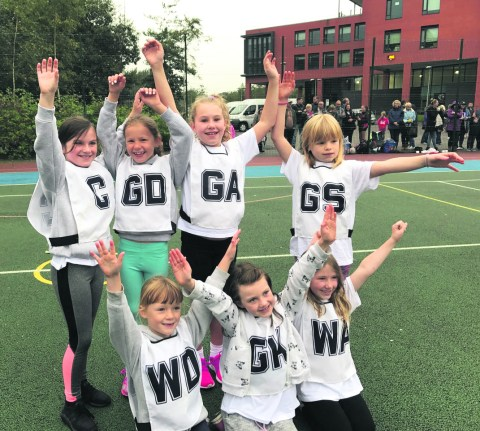 Greenfield netball team