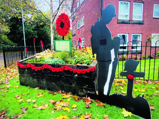 Grotton Remembrance Tribute 2020 by Jenny and Martin Harley