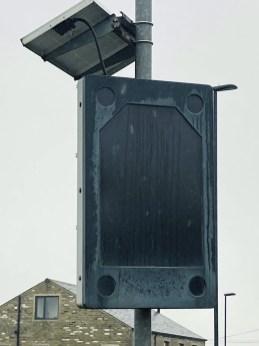 Huddersfield Road sign at Star Inn