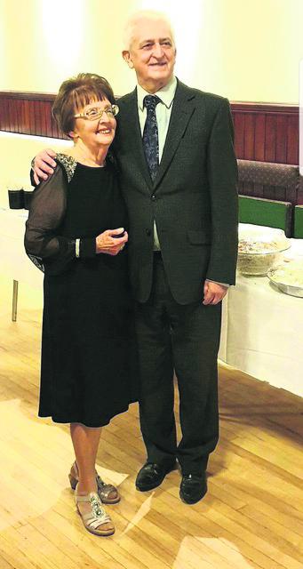 John and Kathleen Hudson celebrate their 60th wedding anniversary in 2020