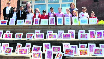 Knowsley Kids with art 2