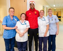 Marcus at RMCH