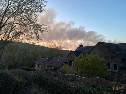 Marsden moorland fire 2021 (4)