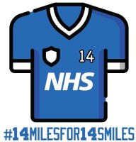 14 miles for 14 smiles: Uppermill FC organises fundraising challenge for NHS