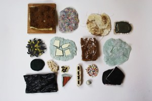 New materials created from waste by Eade and Laura