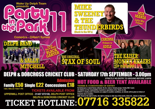 Party in the Park 11 Poster