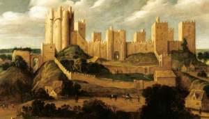 Keirincx, Alexander; Pontefract Castle; Pontefract Museum; http://www.artuk.org/artworks/pontefract-castle-22557