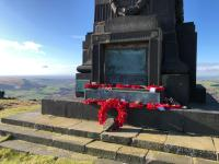 Not forgotten: Remembrance  services moved to Uppermill