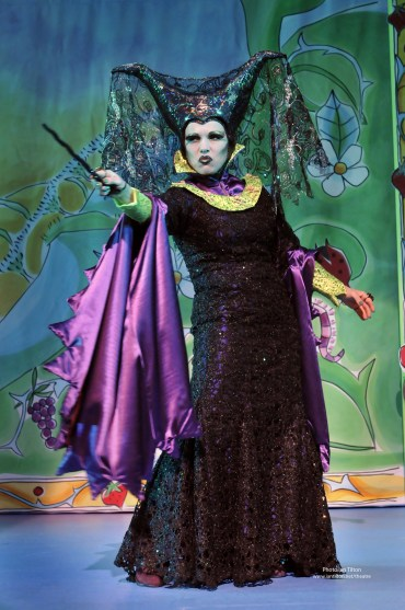 Sue Devaney as Carabosse in Sleeping Beauty, 2010