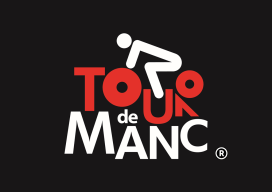 Tour de Manc Logo (R) Black