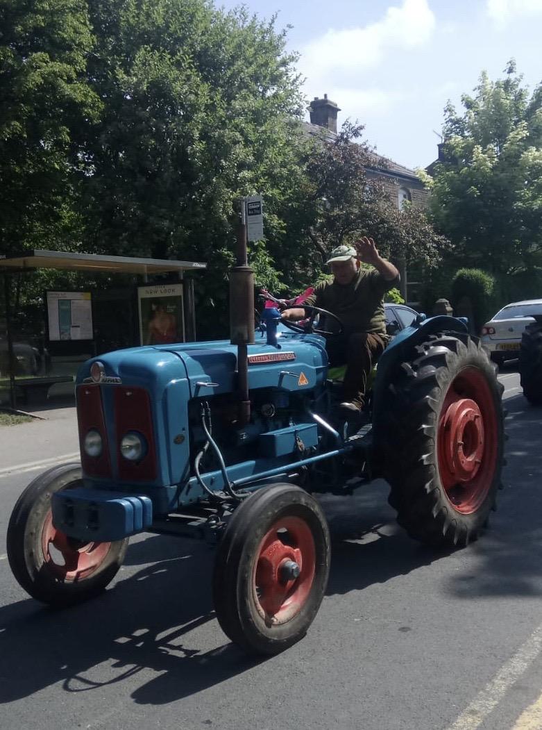 Tractor crop