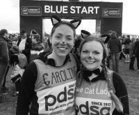 Katie is feline fine after record-breaking London Marathon run