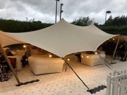 VIP tent