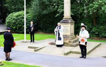 The service in Uppermill
