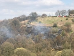 Wall Hill Road-Dobcross Fire (2)