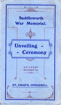 War Memorial Opening