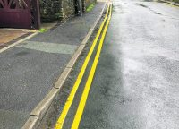 """Lines handed out to drivers for """"irresponsibly"""" parked cars"""