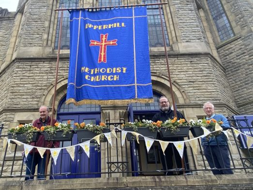 Whit Friday 2021 Methodist Church Uppermill 2