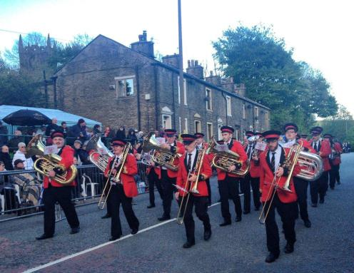 Enjoy the brass music on Whit Friday is the message coming from GMP