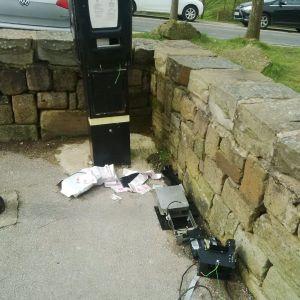 dovestone vandalism