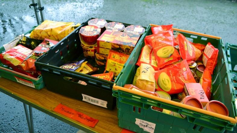 foodbank christmas food donations