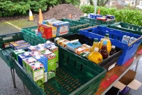 foodbank food donations
