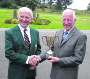 golf Richard Hughes Presidents Prize winner 2015
