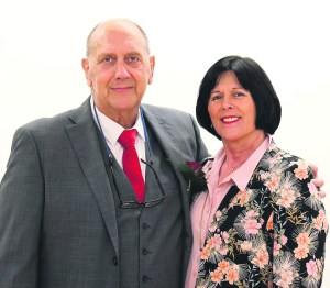 p10 Adrian Alexander with his wife Ginny