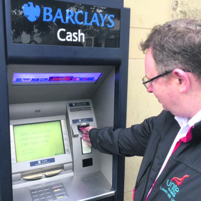 Lees cash machine