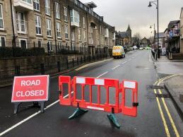 road closed 2