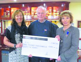 sport golf RNLI cheque