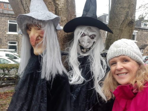 Witches Coven: Tracy Buckley with help from Scarlett and Frankie Fielding